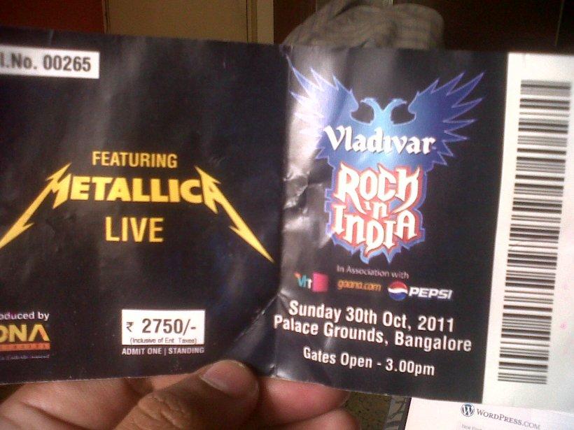Metalica! Live In India