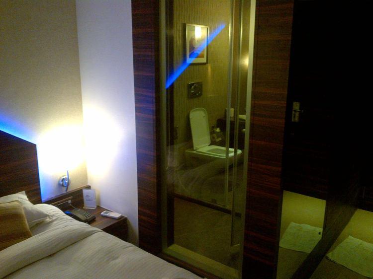 Transparent Bathroom