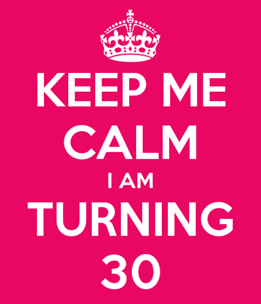 Keep Calm Turning 30